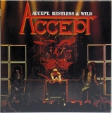 Accept - Restless & Wild, Front Cover
