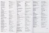 Emerson, Lake + Palmer - Brain Salad Surgery, Info and lyric sheet back