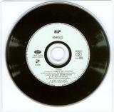 Emerson, Lake + Palmer - Tarkus, CD and plain white inner (no liner)