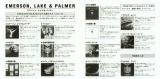 Emerson, Lake + Palmer - Emerson, Lake and Palmer, Emerson, Lake and Palmer - 1999 Series