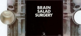 Emerson, Lake + Palmer - Brain Salad Surgery,  Back cover, front flaps open
