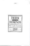 Derek + The Dominos - The Layla Sessions, envelope to hold 12 sheets