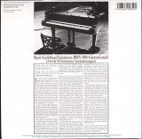 Gould, Glenn  - Bach Goldberg Variations,