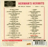 Herman's Hermits - No milk today, Back cover