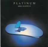 Mike Oldfield - Platinum Deluxe Edition, UK first press LP front sleeve