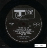 Vinyl Label (Side A)