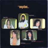 Angel - White Hot, Front inner sleeve