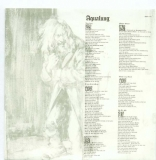 Jethro Tull - Aqualung +6, Lyric sleeve