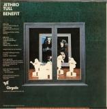 Jethro Tull - Benefit (UK version) +4, Back cover