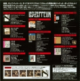 Led Zeppelin - 40th Anniversary Definitive Collection (Zoso Box), Back of box (part of the obi)