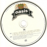 Oasis - The Masterplan, Disc Label