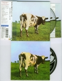 Comparison of Atom Heart Mother - original Japanese v. EU box set (bright matt v. dark gloss) - Front cover and CD