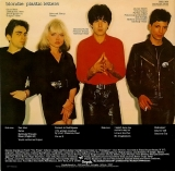 Blondie - Plastic Letters (+4), back cover