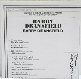 Dransfield, Barry - Barry Dransfield, Insert