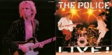 Police (The) - Live , Glossy Foldout Booklet Poster - Cover