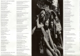 Steely Dan - Pretzel Logic , Glossy Foldout Lyric Poster - unfolded (partial scan)