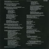 Genesis - Selling England By The Pound, Lyrics insert - back