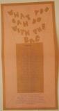 Jefferson Airplane - Bark, Poster 2