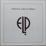 Emerson, Lake + Palmer - Pictures At An Exhibition, Insert