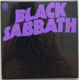 Black Sabbath - Master Of Reality, Front Cover