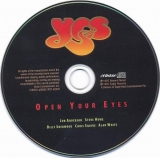 Yes - Open Your Eyes (+1, CD