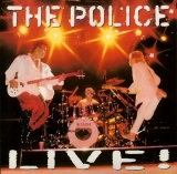 Police (The) - Live , Front Cover