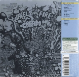 Cream - Wheels Of Fire, Back Cover with obi