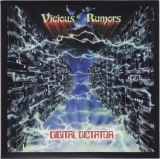 Vicious Rumors - Digital Dictator, Front cover.