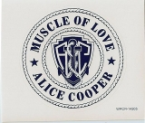 Cooper, Alice - Muscle Of Love, Sticker