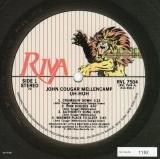 Cougar Mellencamp, John - Uh-huh (+1), Serial numbered card
