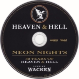 Black Sabbath : Heaven & Hell - Neon Nights - Live At Wacken : CD