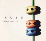 Rush : Different Stages : Front Cover