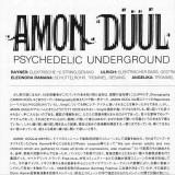 Amon Duul : Psychedelic Underground : Insert