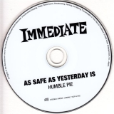 Humble Pie : As Safe As Yesterday Is)(+2 : CD