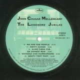 Cougar Mellencamp, John : The Lonesome Jubilee : Serial numbered card