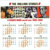 Rolling Stones (The) - Bigger Bang: World Tour 2005-2006 (Box set), Calendar 2006-07 to 2006-12