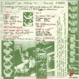 Rolling Stones (The) - Exile on Main Street, Card with images of inner sides 3 and 4