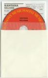Santana - Welcome, Plain (gloss) white inner bag with CD and insert