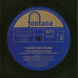 Tears For Fears - The Seeds Of Love +4, original label back