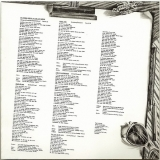 10cc - The Original Soundtrack  (+4), Lyric Sheet (as original) - side 1