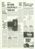 Jethro Tull - Thick As A Brick +2, St Cleve Chronicle - Back Page (Sport)
