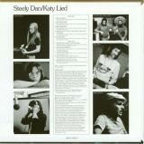 Steely Dan - Katy Lied, Back cover