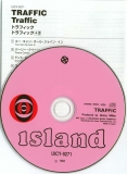 Traffic - Traffic +3, CD and insert
