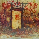 Black Sabbath - Mob Rules, Front Cover