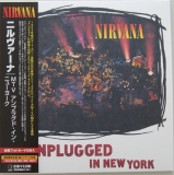 Nirvana - MTV Unplugged In New York, Front cover with obi
