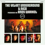 Velvet Underground (The) - The Velvet Underground & Nico, Back cover with sticker