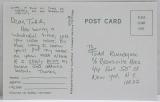 Rundgren, Todd - Wizard: A True Star, Replica Record Card (other side)