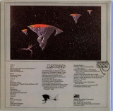 Yes - Yessongs, Back cover (Escape)