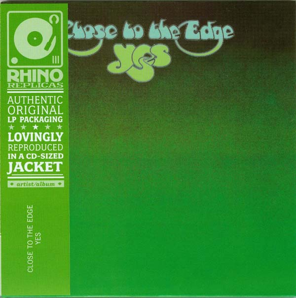 Rhino Cover, Yes - Close To The Edge