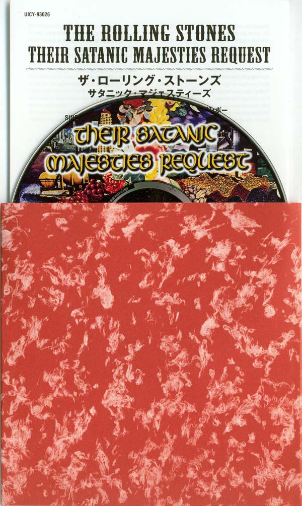 CD, insert and inner sleeve, Rolling Stones (The) - Their Satanic Majesties Request